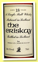 The Eriksay 18 yo (58.1%, Eriksay ltd., single malt, +/-1995)