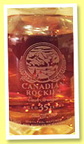 Canadian Rockies 35 yo (79.3%, OB, Canadian, for Taiwan, 2016)