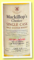 Caol Ila 1979/2014 (46%, Mackillop's Choice, for World of Whiskies, cask #5297, 264 bottles)