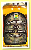 Chivas Regal 12 yo (43%, OB, France, 75cl, +/-1985)