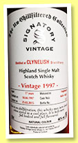 Clynelish 17 yo 1997/2015 (46%, Signatory Vintage, Un-chillfiltered Collection, casks #4624-4625, 607 bottles)