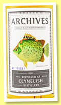 Clynelish 18 yo 1997/2015 (56.1%, Archives, bourbon hogshead, cask #6942, 80 bottles)