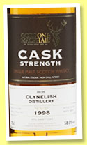 Clynelish 1998/2014 (58%, Gordon & MacPhail, Cask Strength, sherry, casks # 17064-17065)