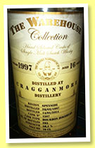 Cragganmore 16 yo 1997/2014 (58.1%, The Warehouse Collection, bourbon hogshead, cask #1507, 295 bottles)