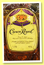 Crown Royal (40%, OB, blend, Canada, rotation 1973)