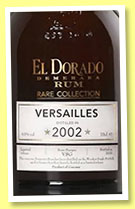 El Dorado Versailles 2002/2015 (63%, OB, Guyana, Rare Collection, bourbon barrels)