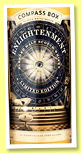 Enlightenment (46%, Compass Box, blended malt, 5,922 bottles, 2016)