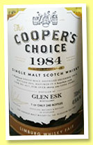Glen Esk 31 yo 1984/2016 (49.5%, The Cooper's Choice, for Limburg Whisky Fair, bourbon, cask #4677, 240 bottles)