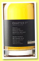 Glen Moray 25 yo 1990/2015 (57%, Chapter 7, bourbon hogshead, cask #5241, 218 bottles)