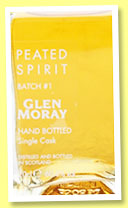 Glen Moray 'Peated Spirit' (60.6%, OB, batch 1, 20cl, +/-2016)