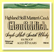 Glenfiddich 'Highland Still Master's Crock' (101 proof, OB, stone flagon, 75cl, +/-1985)