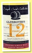 Glenrothes 12 yo 2002/2014 (54.8%, Single Cask Collection, bourbon hogshead, 240 bottles)