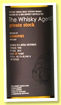 Glenrothes 34 yo 1980/2014 (48,5%, The Whisky Agency, Private Stock, refill hogshead, 180 bottles)