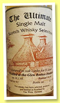 Glen Rothes 8 yo 1986/1994 (43%, Van Wees, The Ultimate, cask #91, 425 bottles)