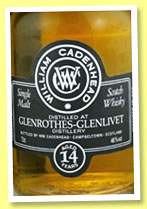 Glenrothes-Glenlivet 14 yo 2001/2016 (46%, Cadenhead, Small Batch, 492 bottles)