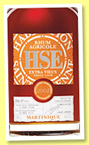 HSE 2004/2012 'Small Cask' (46%, OB, Martinique, agricole)