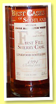 Linkwood 1991/2004 (43%, Jean Boyer, Best Casks of Scotland, 1st fill sherry, cask #1086)