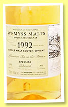 Linkwood 1992/2015 'Afternoon Tea on the Terrace' (46%, Wemyss Malts, hogshead, 305 bottles)