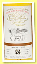 Linkwood 24 yo 1991/2015 (53.8%, The Single Malts of Scotland, cask # 586497, 268 bottles)