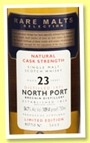 North Port Brechin 23 yo 1971/1995 (54.7%, OB, Rare Malts)