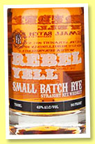Rebel Yell 'Small Batch Rye' (45%, OB, USA, +/-2015)