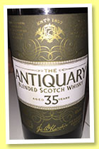 The Antiquary 35 yo (46%, OB, blend, +/-2016)