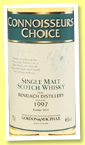 Benriach 1997/2014 (46%, Gordon & MacPhail, Connoisseurs Choice, refill sherry hogshead)