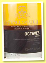 Glenglassaugh 'Octaves Peated' (44%, OB, 2016)