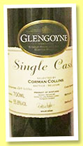 Glengoyne 15 yo 1989/2004 (55.8%, OB for Corman-Collins, Belgium, cask #1219, 264 bottles)