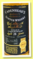Glenkinchie 28 yo 1987/2016 (53.3%, Cadenhead, Authentic Collection, bourbon hogshead, 240 bottles)