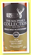 Glenturret 2002/2015 (43%, Gordon & MacPhail, The MacPhail's Collection)