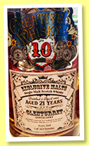 Glenturret 21 yo 1994/2015 (51.6%, Creative Whisky Co., Exclusive Malts, 10th anniversary, 263 bottles)