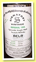 Imperial 20 yo 1995/2015 (56.3%, Signatory Vintage, for Acla Selection, Switzerland)