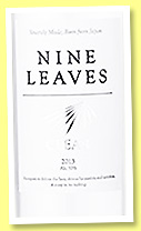 Nine Leaves 'Clear' (50%, OB, Japan, +/-2015)