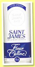 Saint James 'Fleur de Canne' (50%, OB, Martinique, agricole, +/-2015)