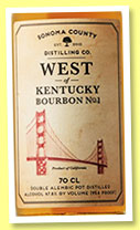Sonoma County 'West of Kentucky Bourbon No.1' (47.8%, OB, +/-2016)