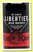 The Dublin Liberties 'Oak Devil' (46%, OB, blended Irish, +/-2016)