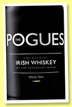The Pogues Whiskey (40%, OB, blended Irish, +/-2015)