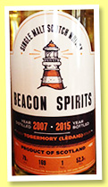 Tobermory 2007/2015 (52.3%, Beacon Spirits, 169 bottles)