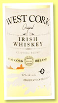 West Cork Original (40%, OB, blended Irish, +/-2016)