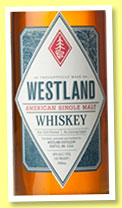 Westland 24 mo (46%, OB, single malt, heavy char new American oak, 6822 bottles, June 2014)