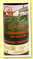Ben Nevis 10 yo 2006/2016 (51.3%, Le Gus't, Selection VI, sherry, cask #3, 763 bottles) Ben Nevis 10 yo 2006/2016 (51.3%, Le Gus't, Selection VI, sherry, cask #3, 763 bottles)