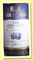 Blue Hanger '13th Release' (45.6%, Berry Bros & Rudd, Taiwan exclusive, blended malt, +/-2016)