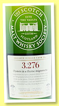 Bowmore 17 yo 1998/2016 (57.4%, Scotch Malt Whisky Society, refill barrel, #3.276, 'Oysters in a thyme mignonette', 114 bottles)