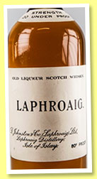 Laphroaig 'Old Liqueur Scotch Whisky' (80° proof, OB, late 1940s-early 1950s)