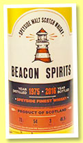 Speyside Finest Whisky 1975/2016 (46.9%, Beacon Spirits)