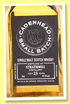 Strathmill 23 yo 1992/2015 (47.2%, Cadenhead, small batch, bourbon)