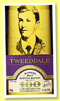 The Tweeddale 'The Last Centennial' (52.1%, Tweeddale, blended malt, 2016)