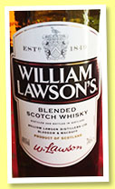 William Lawson's (40%, OB, blended Scotch, +/-2016)