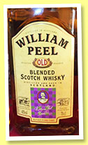 William Peel (40%, OB, blended Scotch, +/-2016)